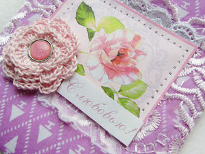 Аукцион с нуля на 4 чудесные мягкие открытки   Ярмарка Мастеров - ручная работа, handmade