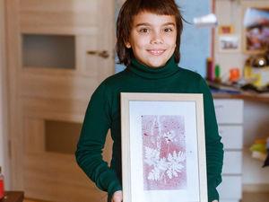 Творим с детьми: осенние картины с листьями. Ярмарка Мастеров - ручная работа, handmade.