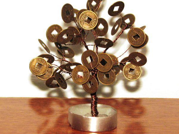 Мастер-класс по созданию денежного дерева | Ярмарка Мастеров - ручная работа, handmade