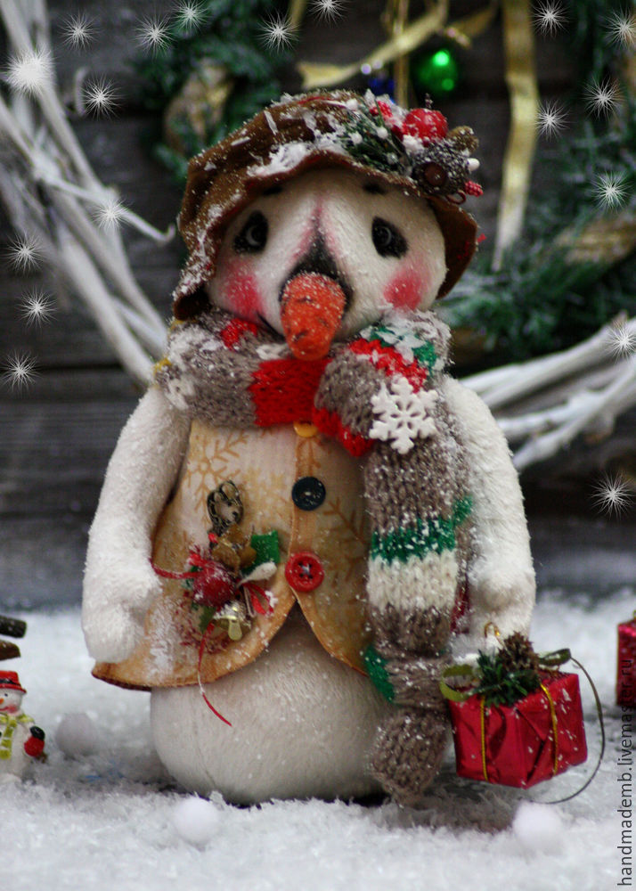 мастер-класс снеговика