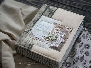 подробные фото альбома в подарок сестре   Ярмарка Мастеров - ручная работа, handmade