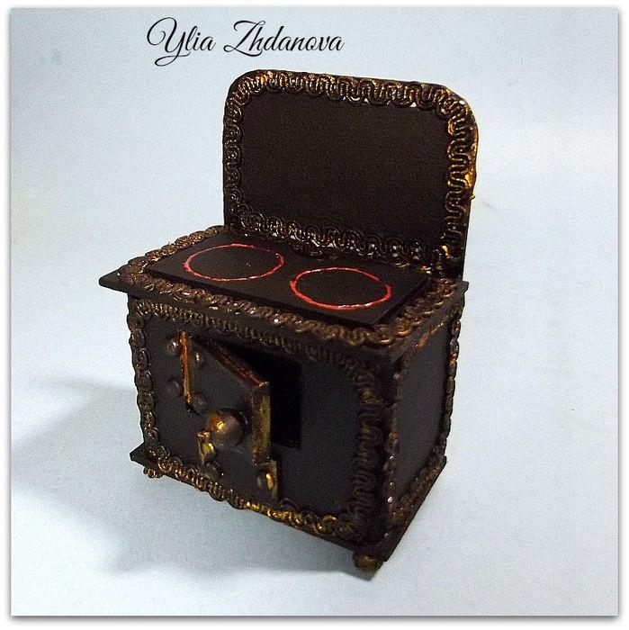 Мастерим миниатюрную чугунную печку - Ярмарка Мастеров - ручная работа, handmade