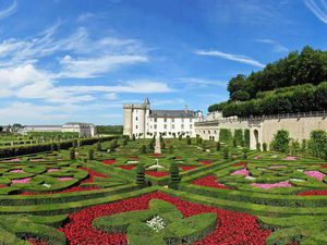 Прекрасные сады замка Chateau de Villandry. Ярмарка Мастеров - ручная работа, handmade.