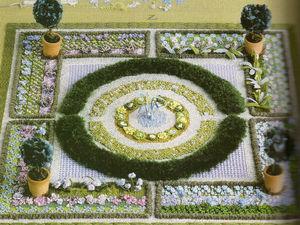Объемный сад от английского вышивальщика Owen Davies. Ярмарка Мастеров - ручная работа, handmade.