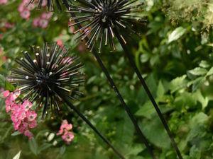 Мастерим садовые растения из гвоздей!. Ярмарка Мастеров - ручная работа, handmade.