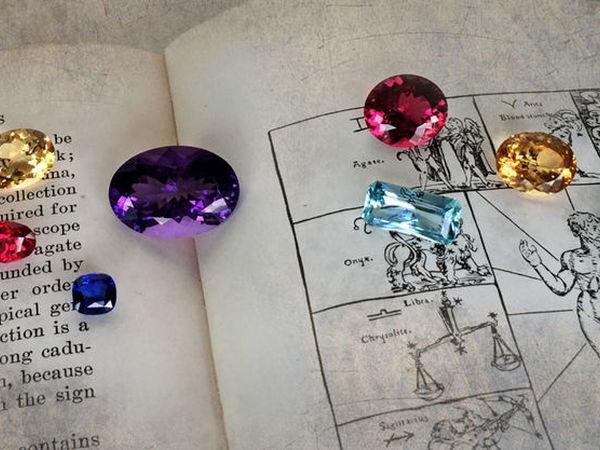 Драгоценные камни, знаки зодиака и влияние планет | Ярмарка Мастеров - ручная работа, handmade