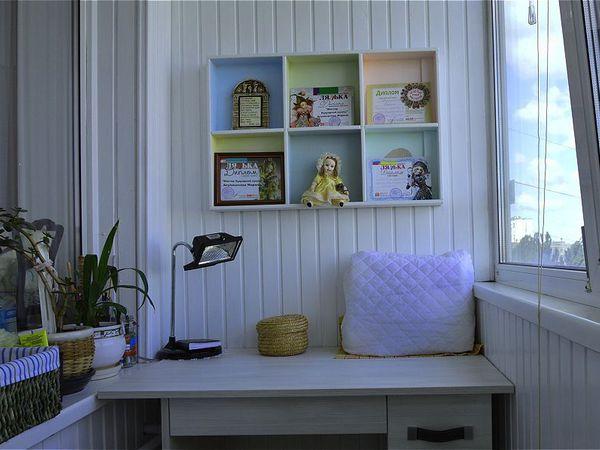 Мой миниатюрный кабинет на лоджии   Ярмарка Мастеров - ручная работа, handmade