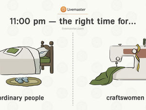 10 Differences Between Normal People and Craftswomen. Livemaster - handmade