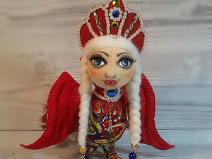 Шьем славянскую птицу счастья Гамаюн. Ярмарка Мастеров - ручная работа, handmade.