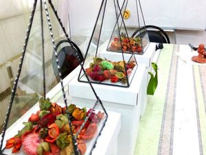 фотоотчет о флорариумах в технике Тиффани) | Ярмарка Мастеров - ручная работа, handmade