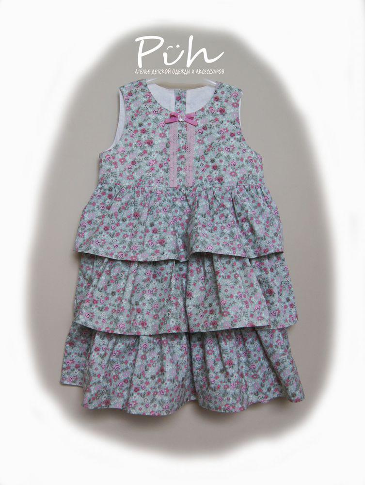 подарок, сарафан, блуза для девочки