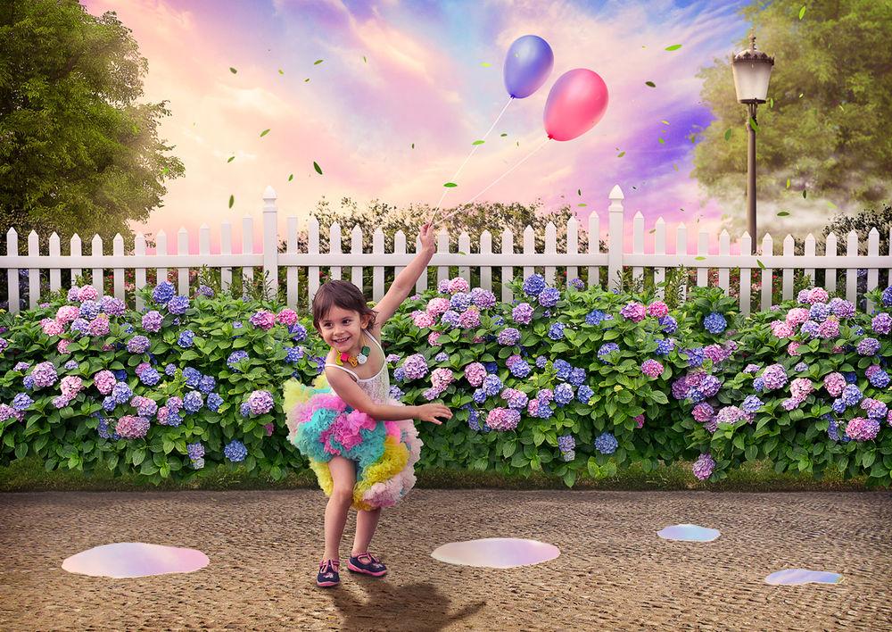 фотошоп, фотоколлаж, фотопортрет, обработка фото, портрет, детский портрет