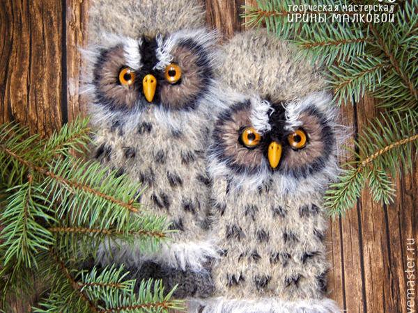 Готовимся к зиме!!!!Варежки в подарок!!!!!!!!!!!!!! | Ярмарка Мастеров - ручная работа, handmade