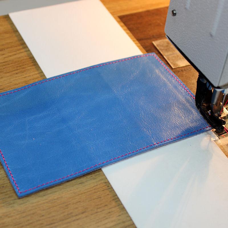 Tutorial on Making a Leather Key Bag, фото № 10