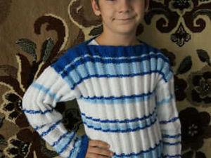 Свитерок, он же пуловер. Ярмарка Мастеров - ручная работа, handmade.