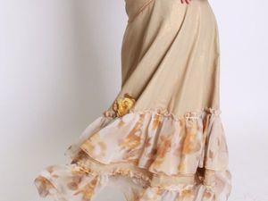 Все льняные юбки по 550 руб до конца Ноября!. Ярмарка Мастеров - ручная работа, handmade.