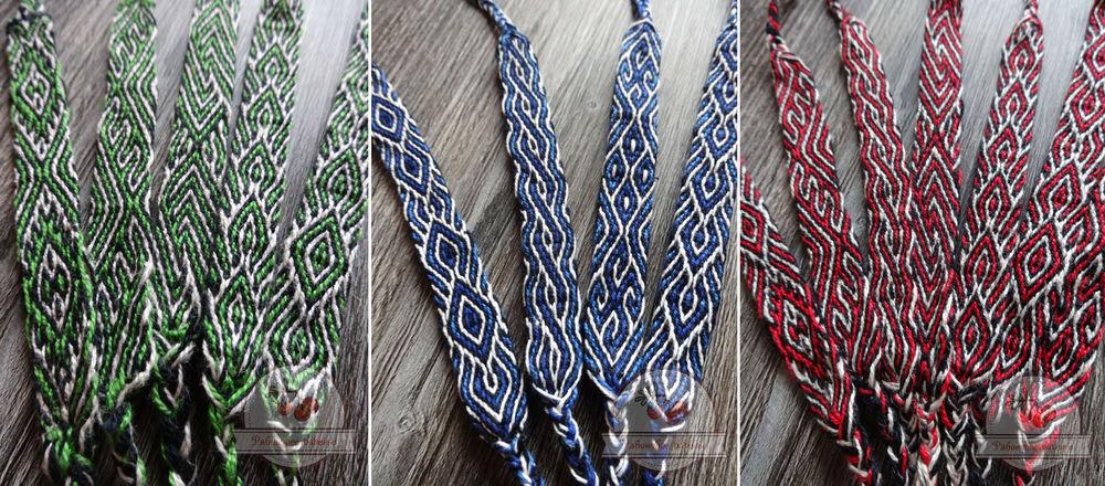браслеты, тканые браслеты, ткачество