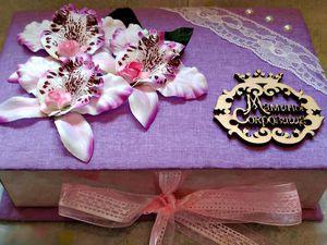 Видео мастер-класс: создаем коробочку «Мамины сокровища». Ярмарка Мастеров - ручная работа, handmade.