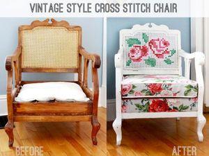 Вторая жизнь старого кресла. Ярмарка Мастеров - ручная работа, handmade.