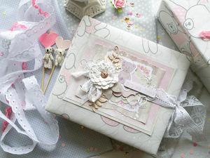 Альбом для малышки в коробке | Ярмарка Мастеров - ручная работа, handmade