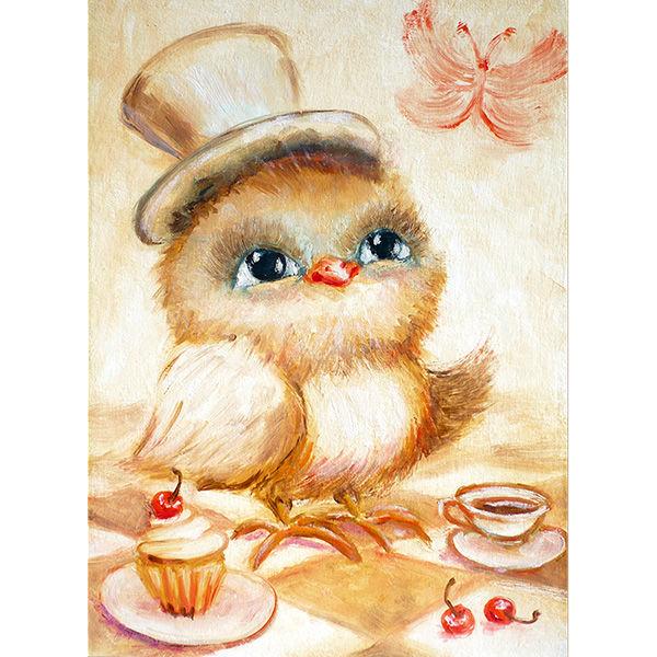 картины для детской, милота, картины в детскую, уютные картины маслом, иллюстрации