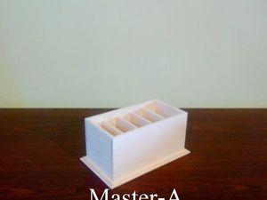 Подставка для пультов - 9 - заготовка для декупажа.. Ярмарка Мастеров - ручная работа, handmade.