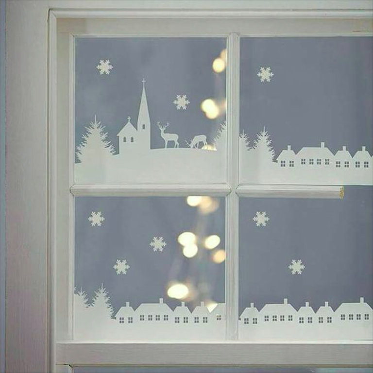 How to Decorate Windows for New Year: 20 Great Ideas, фото № 9