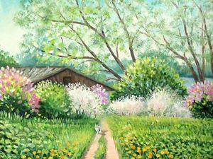Весна Скидок! Пейзажи и картины цветов - маслом с хорошими скидками!. Ярмарка Мастеров - ручная работа, handmade.