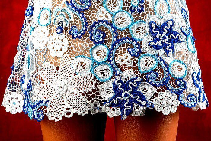 ирландское кружево, кружевное платье