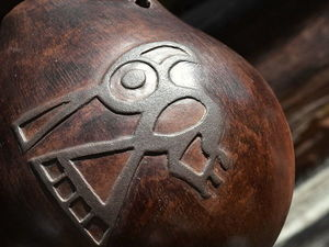 Звучание окарины с птицей. Ярмарка Мастеров - ручная работа, handmade.