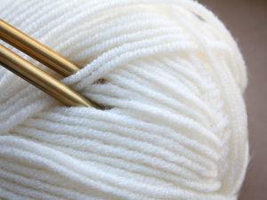 Почему я предпочитаю вязать из чистой шерсти?. Ярмарка Мастеров - ручная работа, handmade.