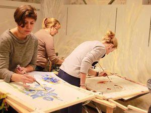 Мастер-класс по Батику ЧЕТВЕРГ 9 марта с 12-00. Холодный батик | Ярмарка Мастеров - ручная работа, handmade