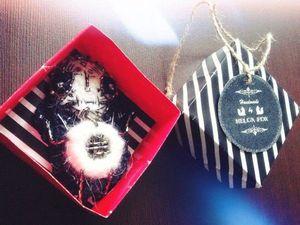 Новая упаковка для брошек в Atelier Crochet Fox: забавные коробочки ручной работы. Ярмарка Мастеров - ручная работа, handmade.