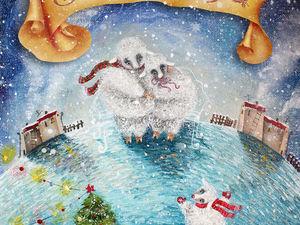 Новогоднее поздравление для всех!. Ярмарка Мастеров - ручная работа, handmade.
