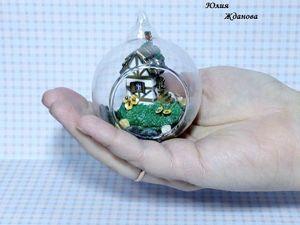 Как собрать миниатюрный мир в шаре. Ярмарка Мастеров - ручная работа, handmade.