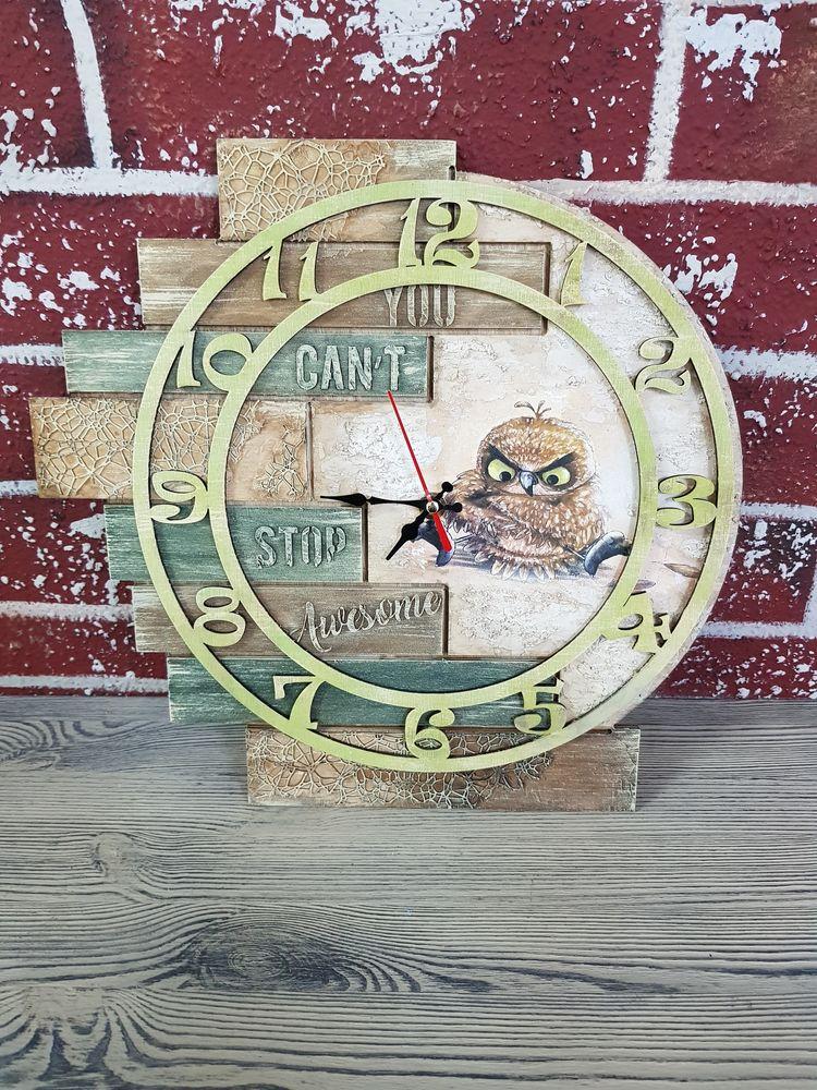 Часы с рельефом и объемными элементами,МК подходит для начинающих!, фото № 4
