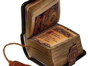 Книги как произведения искусства: подборка потрясающих изделий. Ярмарка Мастеров - ручная работа, handmade.