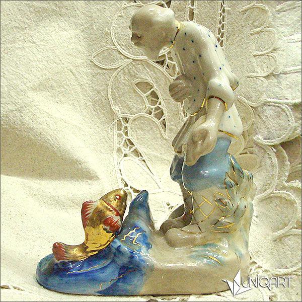 фарфоровая статуэтка, советский фарфор, винтажный стиль, статуэтка, русский сувенир