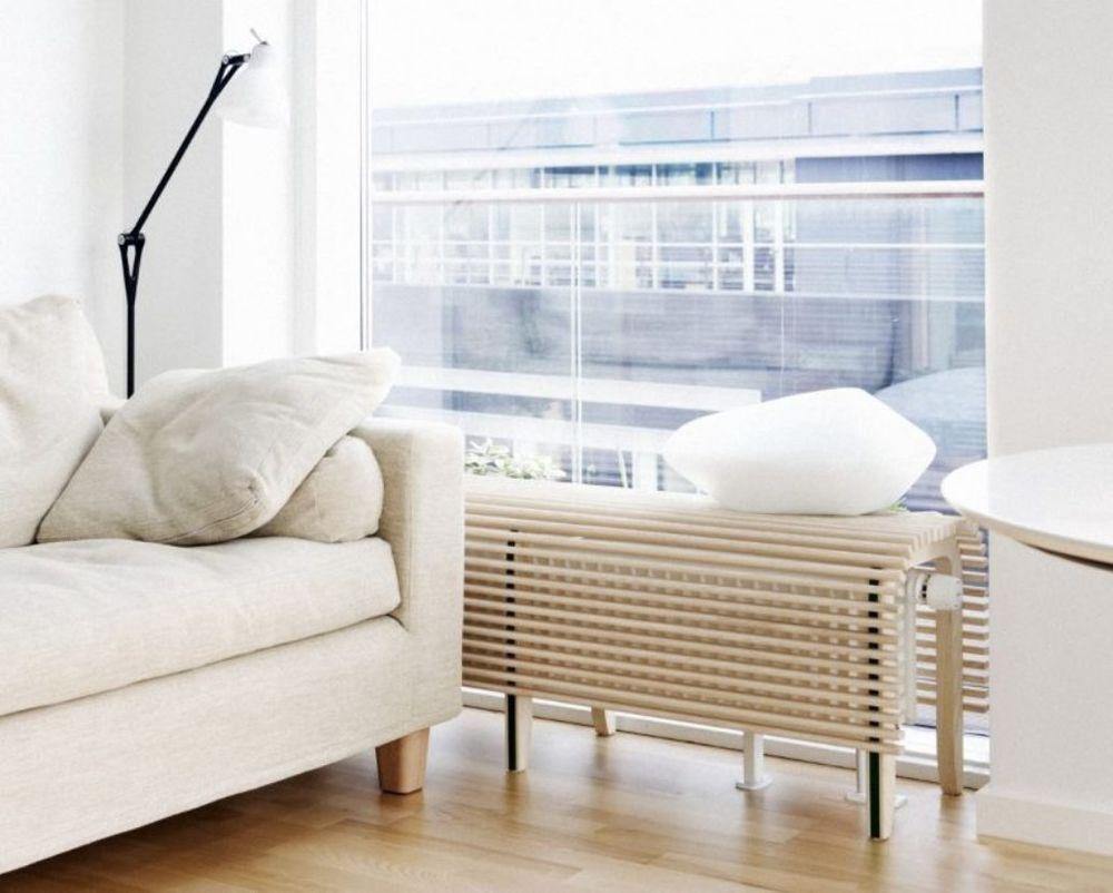45 идей для декорирования батарей отопления, или Как «замаскировать» радиаторы отопления дома, чтобы не мозолили глаза, фото № 42