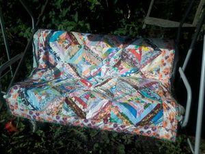 мое первое лоскутное покрывало   Ярмарка Мастеров - ручная работа, handmade