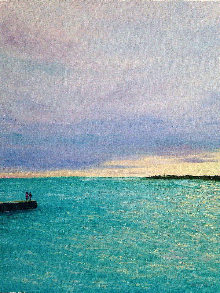 картина, рассказ, морская тема