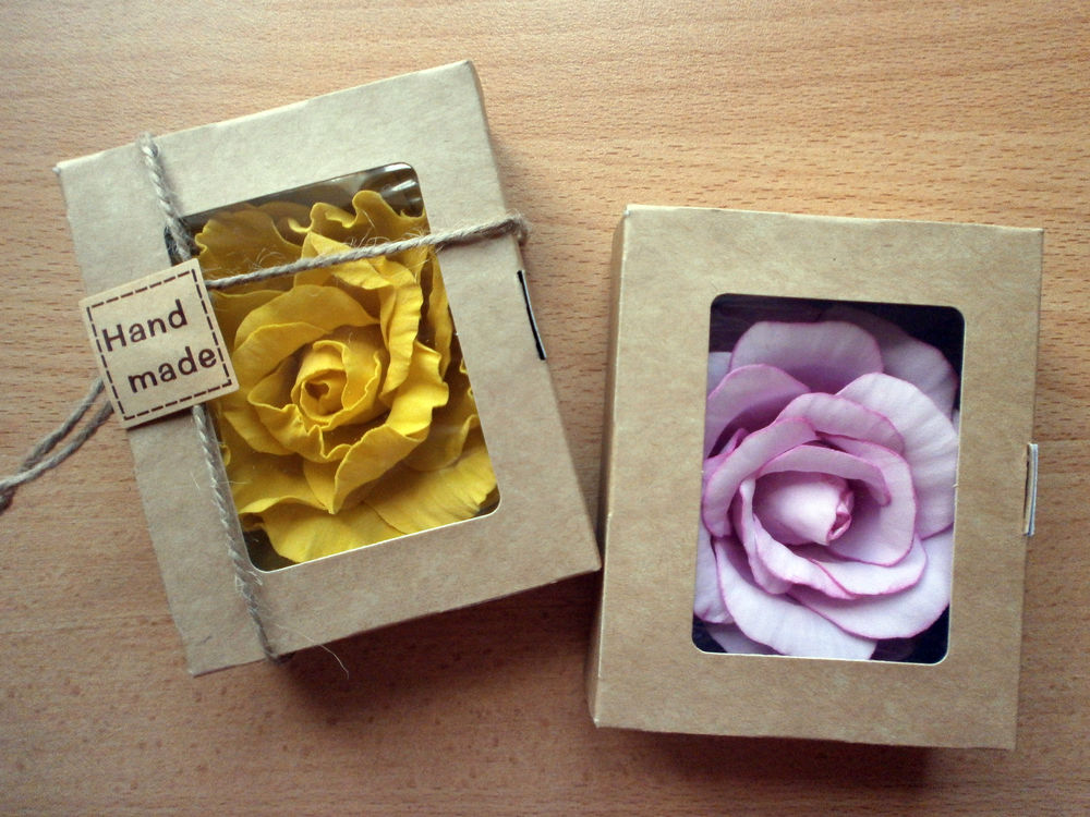 крафт-упаковка, упаковка хендмейд, ручная роспись, коробка без окна, коробочка, коробочка для пряника