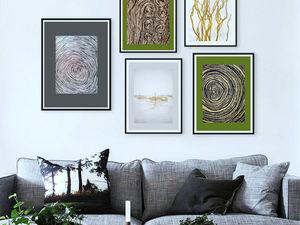 Как объединить несколько картин в гармоничную и стильную композицию?. Ярмарка Мастеров - ручная работа, handmade.