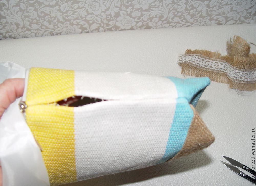 Переделываем летнюю косметичку в яркую сумочку, фото № 8