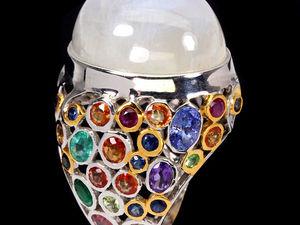 Новинка!!! Эксклюзив!!! Шикарное кольцо!!!. Ярмарка Мастеров - ручная работа, handmade.