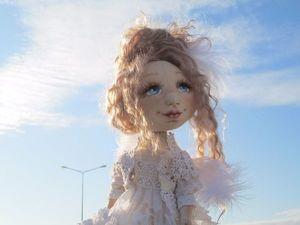 Кукла коллекционная Ангелочек. Ярмарка Мастеров - ручная работа, handmade.