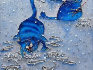 Зима - время для зимней рыбалки!!!. Ярмарка Мастеров - ручная работа, handmade.