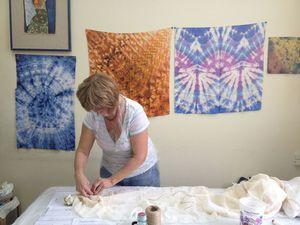 Окрашивание тканей в технике Шибори,  22 октября (суббота)   Ярмарка Мастеров - ручная работа, handmade