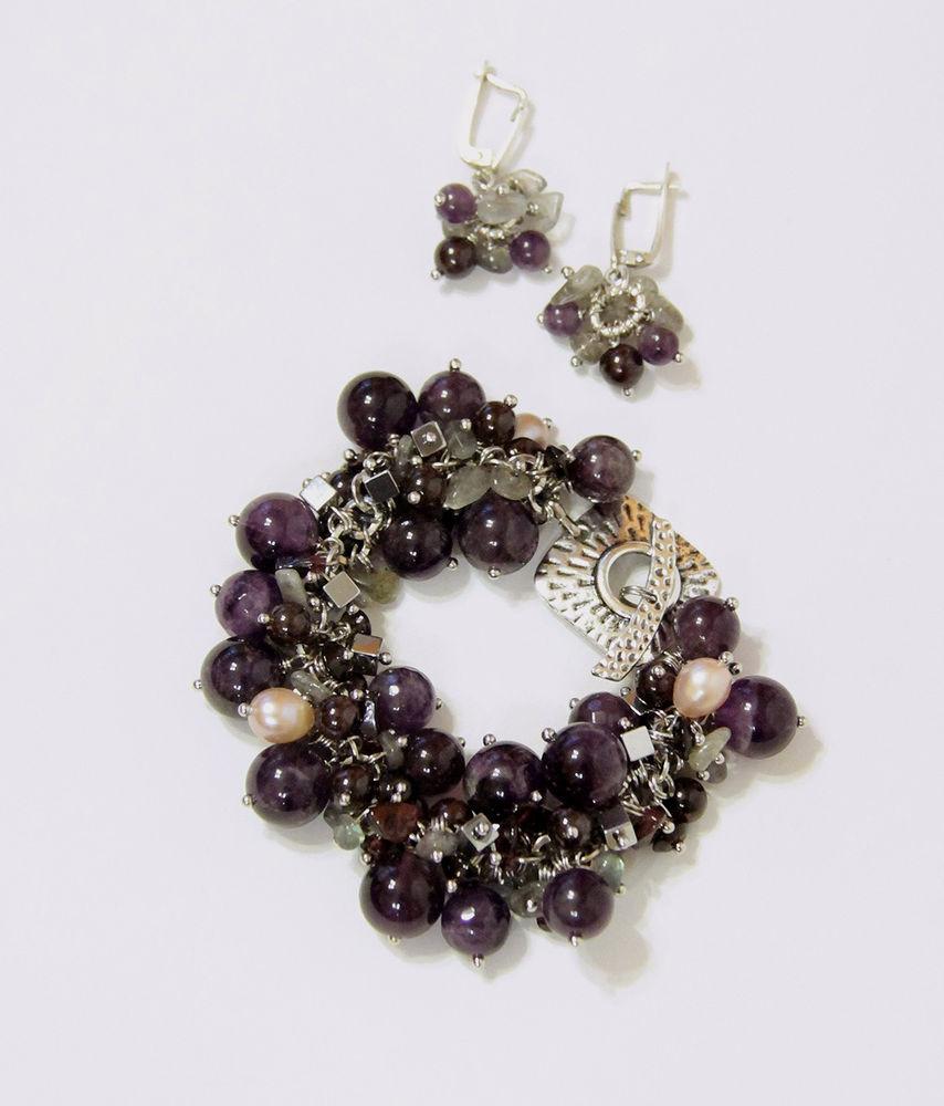 Авторские украшения из натуральных камней  и жемчуга своими руками, фото № 28