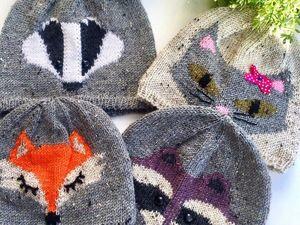 Минус 20 процентов на готовые вязаные шапки.. Ярмарка Мастеров - ручная работа, handmade.